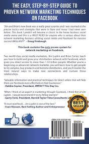 network marketing for facebook proven social media techniques for network marketing for facebook proven social media techniques for direct s mlm success jim lupkin brian carter 9781502328168 com books