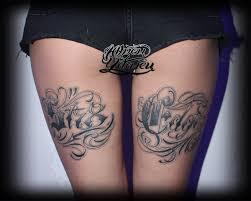 татуировка надпись Straight Edge