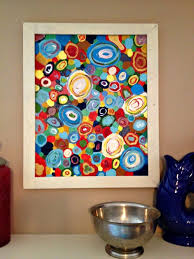 diy office projects. Phantasy Roadkill Rescue Circle Art Ways To Get This Colorful Office Infarrantly In Diy Projects