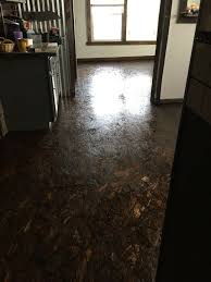 paint osb suloors finished osb floor plywood floors repainting kitchen cabinets plywood and flooring ideas