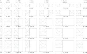 Pgt Sliding Glass Door Size Chart Pgt Window Sizes Daileywealth Co