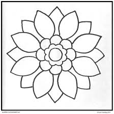 Simple Mandala Coloring Pages Printable Deviantart