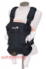 <b>Рюкзак</b>-<b>кенгуру Safety 1st Mimoso</b> цвет Full Black Рюкзак-кенгуру ...