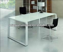 Nervi glass office desk Intended Tempered Glass Office Table Steel Frame Powder Coated Finish Buy Comfortable Pertaining To The Charley Girl Glass Office Desk And Desks For Home Furniture Youtube Elegant Table