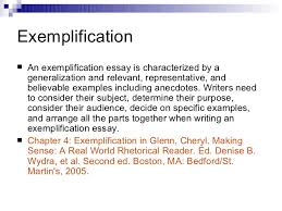 exemplification essay sample outline examples editing essay  exemplification essay outline