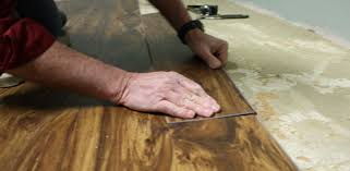 installing a resilient vinyl floor is an easy diy project