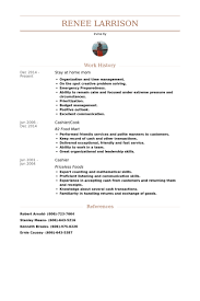Stay At Home Mom Resume Samples VisualCV Resume Samples Database