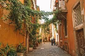 Balade dans le Trastevere - Rome / Lepoint2départ