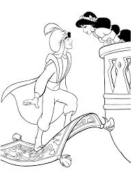 Aladdin E Jasmine 3 Disegni Da Colorare Gratis Disegni Da Colorare