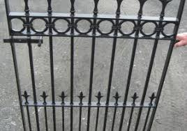 wrought iron fence victorian. Valuable Wrought Iron Fence Victorian Edwardian Gate Style  Garden Wrought Iron Fence Victorian