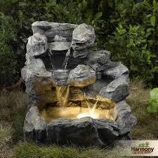 Indoor Rock Garden Rock Water Fountain Indoor Stylist Design 14 Garden Status Stone