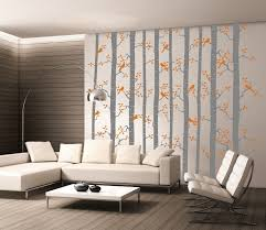 modern wall decor for living room round coffee table long dining table textured cream stone wall