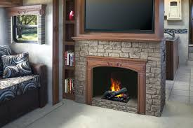 faux stone electric fireplace entertainment center heater look canada