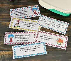 And that's what makes them brilliant. Dr Seuss Lunchbox Notes For Kids