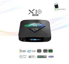 Android R-TV BOX X10 PRO TV Box Android 8.1 Amlogic S905X2 Quad Core 2GB  RAM+16GB ROM, Electronics, Others on Carousell
