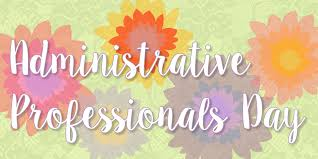 Administrative Professional Days April 27 Is Administrative Professionals Day Terryberry