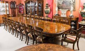 large dining table. Huge Bespoke Handmade 17ft Marquetry Burr Walnut Dining Table For Sale At 1stdibs Large