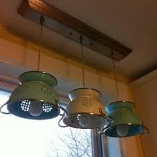 diy kitchen lighting. Strainer Kitchen Pendant Light - Recherche Google Perhaps In White? Diy Lighting