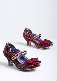 Irregular Choice Shoe Size Chart True Destiny Mary Jane Heel