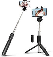 Wireless <b>Selfie Stick</b> Tripod with <b>Remote</b> for iphoneX 6 6s 7 8 plus ...