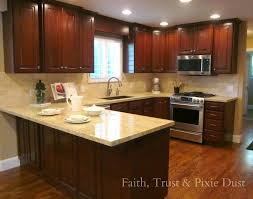 Small U Shaped Kitchen Remodel Kitchen Islands Small L Shaped Kitchen Design With Island And