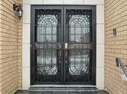spectacular patio door screen guard guarda commercial security screen door patio door guard security