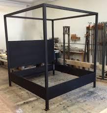 custom made canopy.  Custom Custom Made Modern Canopy Bed  Cerused Or Limed Oak Finish Available For