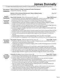 Resume Interestsxamples Curriculum Vitae Samples Skills And