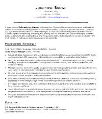 Customer Service Resume Objective Project Scope Template