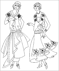 Small Picture Fashion Coloring Pages fablesfromthefriendscom