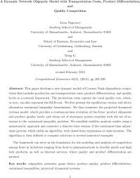 oligopoly essay essay