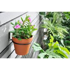 vigoro 6 in wall mount planter holder