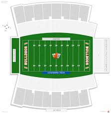 Joe Aillet Stadium Louisiana Tech Seating Guide