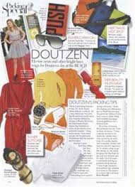 Model Doutzen Kroes Packing List Nails Magazine
