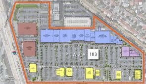 olive garden in plaza 183 location plan