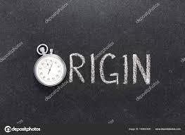 Word Origin Origin Word Watch Stock Photo Yurizap 153922600
