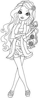 Briar Beauty Getting Fairest Coloring Page