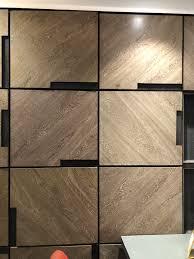 Wardrobe Pattern Design Veneer Pattern Wardrobe Door Designs Showroom Interior