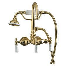 bathtub design pl pb bathtub spout diverter clawfoot tub filler faucet with code gooseneck model rv