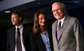 a love letter to warren buffett from bill and melinda gates fortune warren buffett and bill and melinda gates started the giving pledge in 2010 to convince other