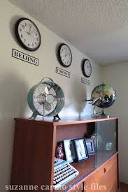 retro office decor. Men\u0027s Home Office Makeover With Retro Inspired Decor - Suzanne Carillo