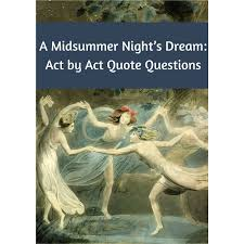 Midsummer Night\'s Dream Quotes Quiz Best of Scene By Scene Quiz Questions For A Midsummer Night's Dream