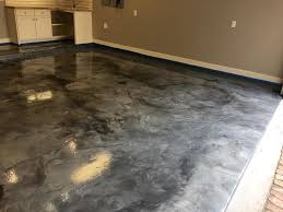 epoxy flooring garage. Recently Installed Metallic Epoxy Floor Coating For Commercial Or  Residential Application Epoxy Flooring Garage