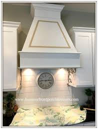 Diy Range Hood From My Front Porch To Yours Diy Farmhouse Range Hood
