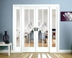 room divider doors ikea room divider doors white primed glazed clear bevelled glass room divider doors