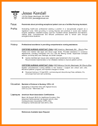 Nursing Aide Resume Sample Sle Nurse Cna Medical Assistant Templ