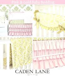 pink gold crib bedding we would love to see pictures of your pink and gold nursery pink gold crib bedding