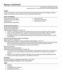 Mechanical Design Engineer Resume Samples Resume Samples Engineering Wikirian Com