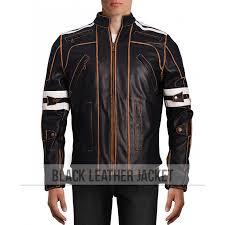 street motorcycle leather jacket zoom vintage