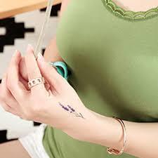 2018 Nové Modely 500 Vodotěsné Dočasné Tetování Tetování Henna